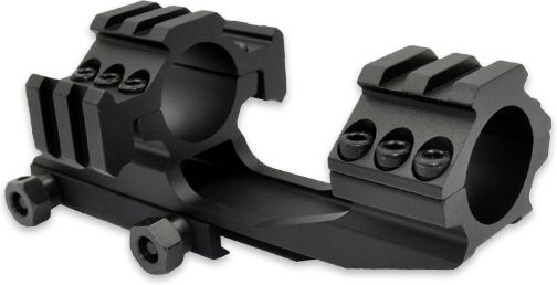 SHS RIS 25.4mm Railed Scope Mount (M005-BK) - Čierna