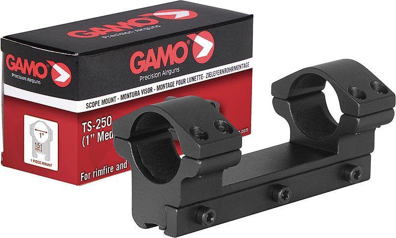 """GAMO Montážne krúžky 25mm TS-250 1"""", Medium Rail"""