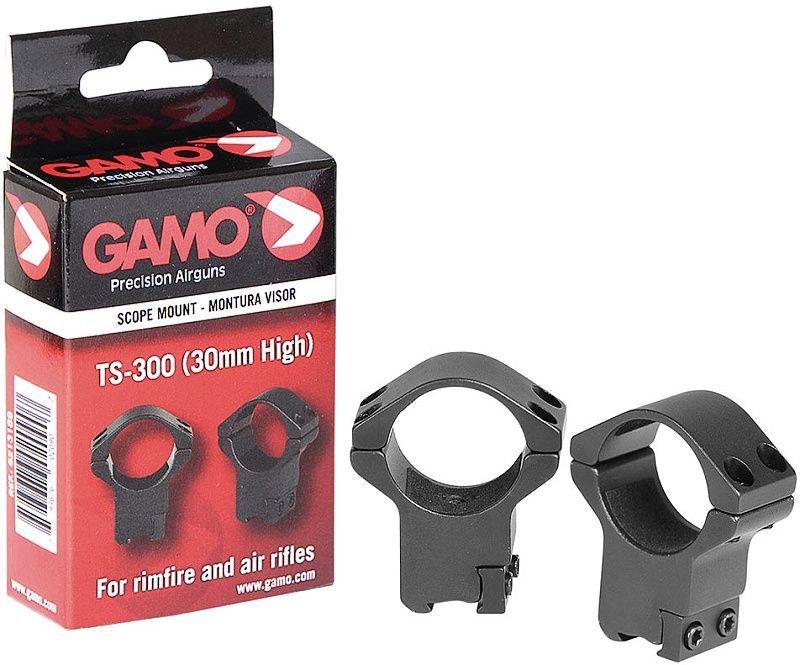 GAMO Montážne krúžky 30mm TS-300, High