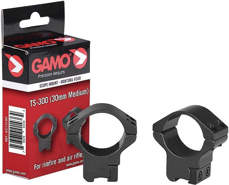 GAMO Montážne krúžky 30mm TS-300, Medium