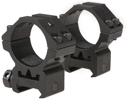 THETA OPTICS Montážne krúžky 30mm, nízke