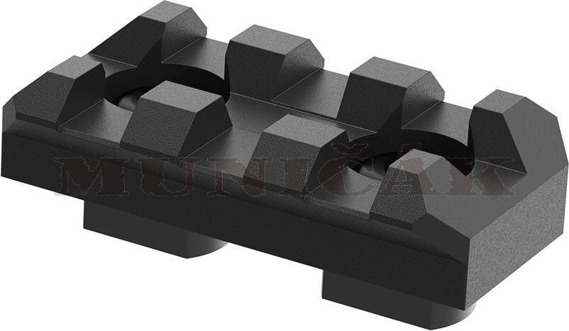 ClawGear M-LOK RIS lišta 3 Slot Rail (20219)
