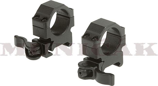 LEAPERS 25,4mm Montážne krúžky Low