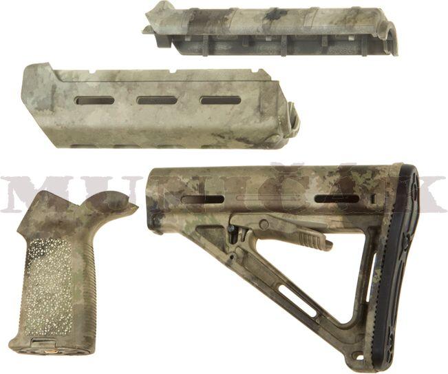 Big Dragon MPOE Kit (predpažbie, rukoväť, pažba) pre sériu M4, ATACS AU