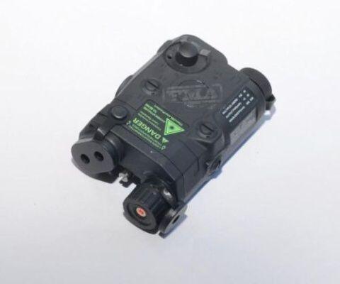 FMA Box na batériu PEQ15 + laser - čierny