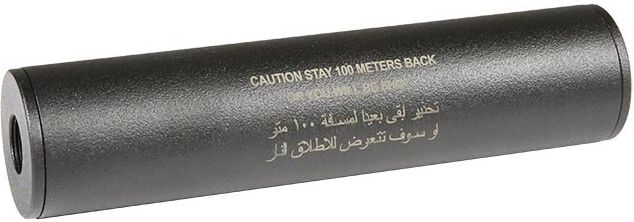 """Airsoft Engineering """"Stay 100m back"""" Covert Tactical Standard Tlmič 35x100mm"""