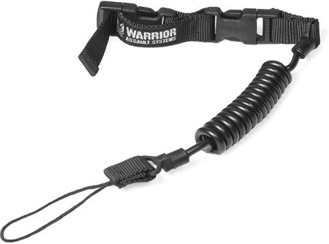 Warrior Tactical Pistol Lanyard Black (W-EO-TPL-BLK)