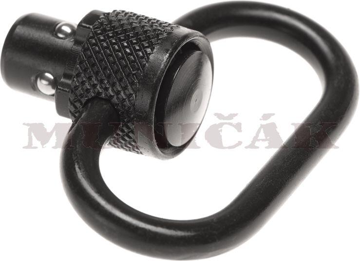 LEAPERS Heavy Duty Steel Push Button QD Sling Swivel (31762)