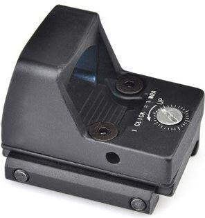 AIM-O Kolimátor LED RMR Reflex Sight Replica - čierny
