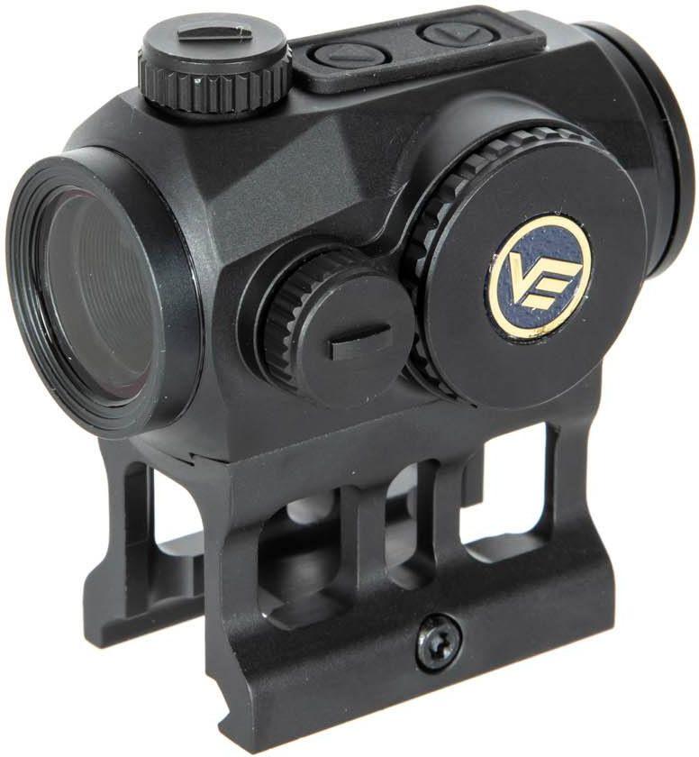 VECTOR OPTICS Kolimátor Scrapper 1x22 Red Dot Sight - čierny
