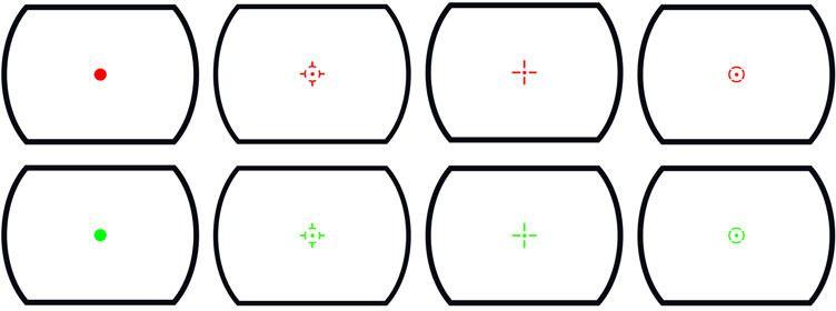THETA OPTICS Kolimátor Spider Red Dot, (THO-10-011603-00)