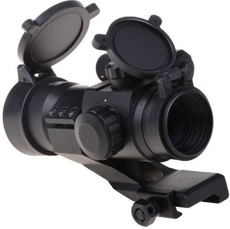 THETA OPTICS Kolimátor Battle II Reflex Sight /w laser, (THO-10-009072-00)
