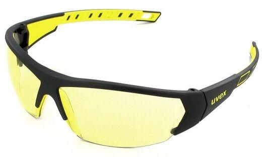 Uvex - plastové okuliare i-works, žlté, žlto-šedý rám