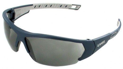 Uvex - plastové okuliare i-works, šedé, čierno-šedý rám
