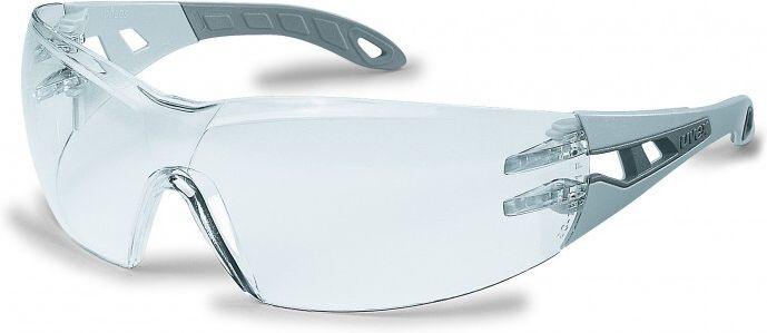 Uvex - plastove okuliare pheos, číre