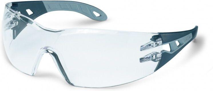 Uvex - plastove okuliare pheos, číre, užšia tvár