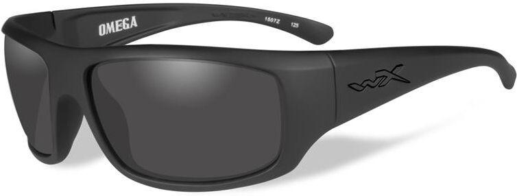 Wiley X Okuliare OMEGA Black Ops - dymové sklá / matný čierny rám (ACOME01)