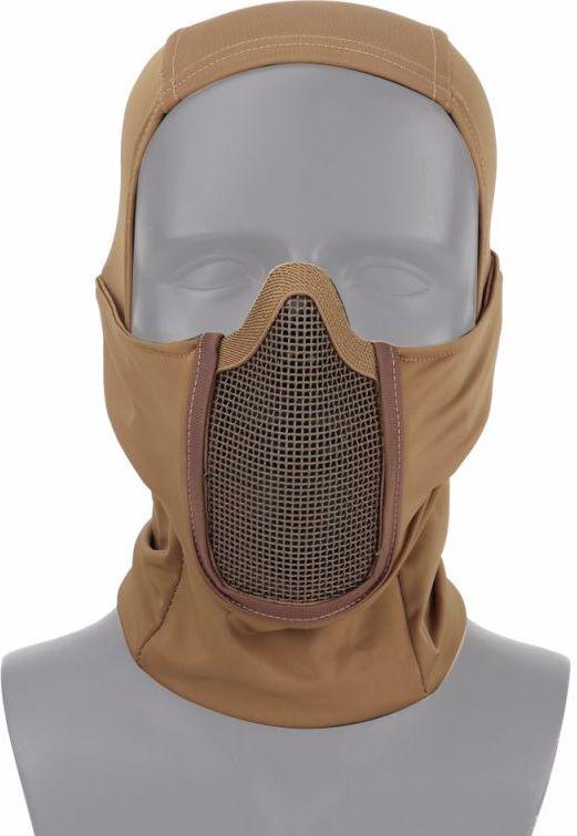 INVADER GEAR Sieťovaná maska Mk.III - tan (29753)