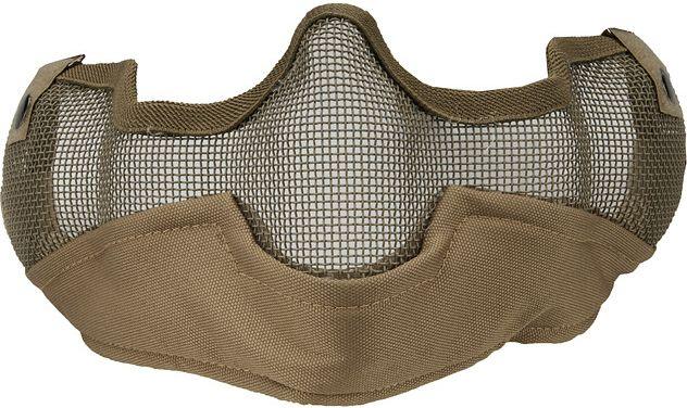 ACM sieťovaná maska Starker V3, tan, MAS-27-TAN