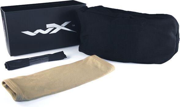 Wiley X Okuliare SPEAR - dymové + číre sklá / matný pieskový rám (SP29T)