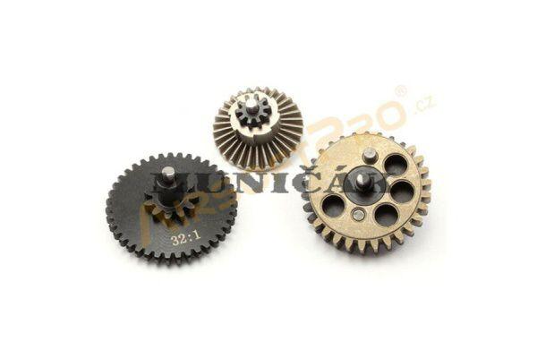 AirsoftPro Set záťažových CNC kolies 32:1 - priame ozubenie