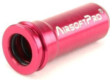 AirsoftPro CNC Hliníková tryska s dvojitým tesnením pre M4 / M16 - 21,4 mm