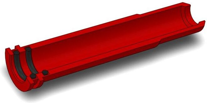 AirsoftPro CNC Hliníková tryska s dvojitým tesnením pre CSA VZ.58 - 49,2 mm