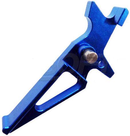 SHS CNC Spúšť pre M4 - modrá (M4-38-BL)
