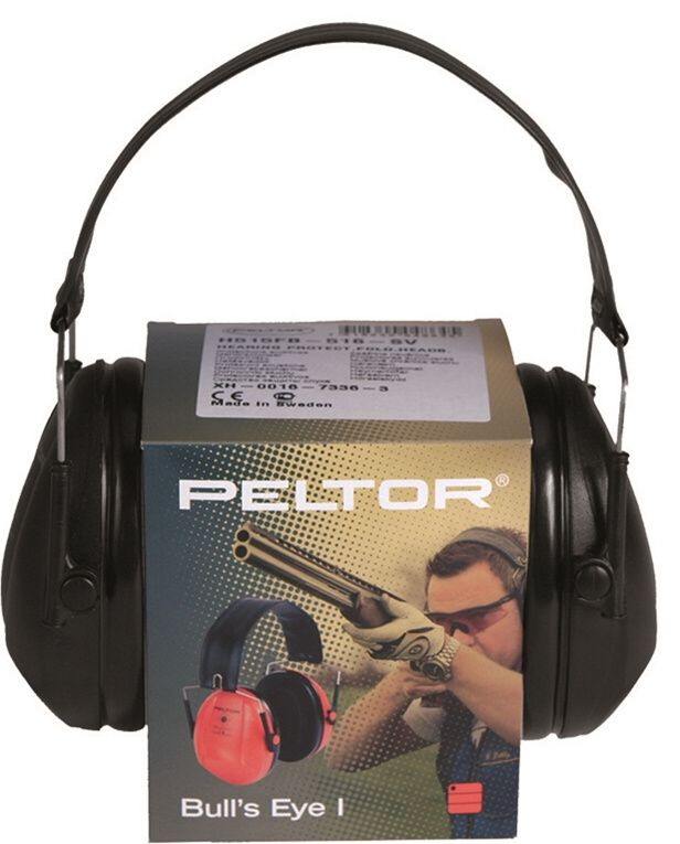3M Sluchadlá proti hluku 3M PELTOR Bulls Eye I - čierne (16241002)