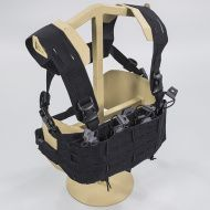 Chest Rig DIRECT ACTION Tiger Moth® Chest Rig - Cordura® - Čierny (CR-TGRM-CD5-BLK)