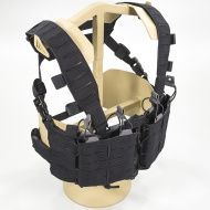 Chest Rig DIRECT ACTION Tempest® Chest Rig - Cordura® - Čierny (CR-TMPT-CD5-BLK)