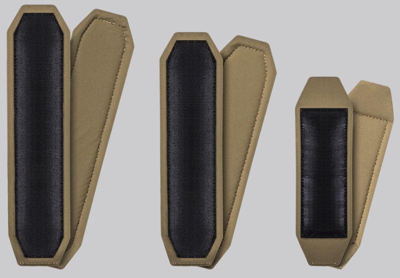 DIRECT ACTION Zmäkčujúce vložky Spitfire Comfort Pad Set - Nylon - adaptive green, (PC-SPCP-NLN-AGR)