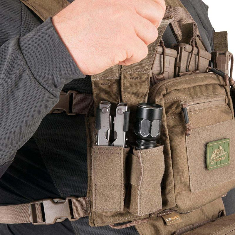 HELIKON Taktická vesta Training Mini Rig cordura - coyote (KK-TMR-CD-11)