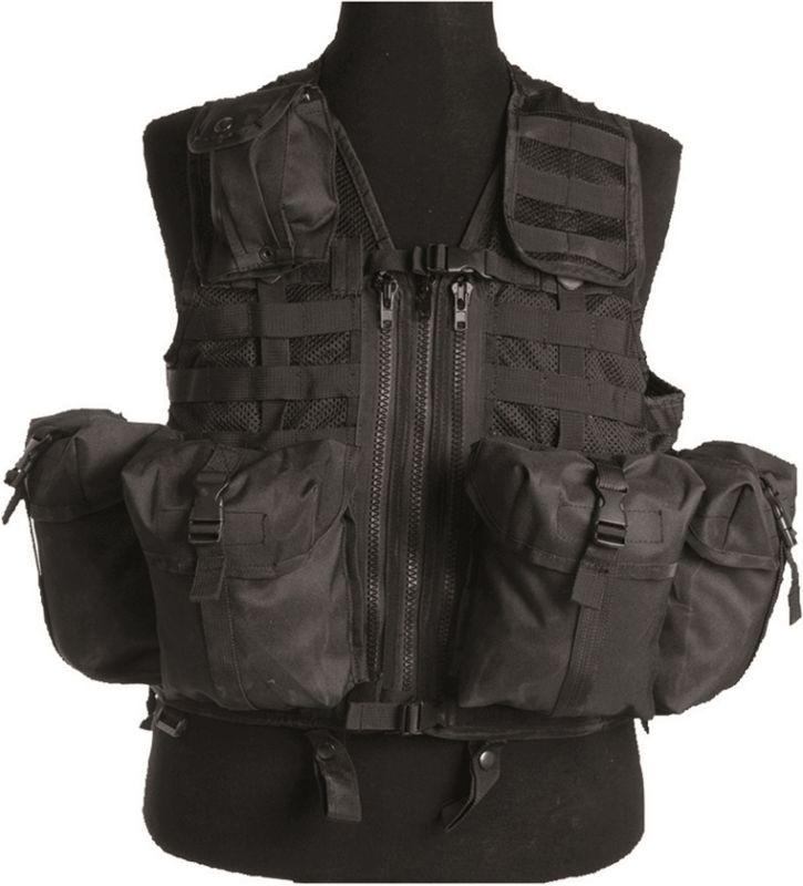 Taktická vesta Modular, čierna