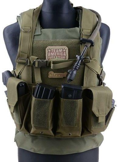 GFC Chest Rig M4-M16 - tan