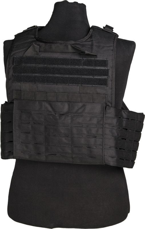 Nosič plátov MILTEC, laser cut, čierny