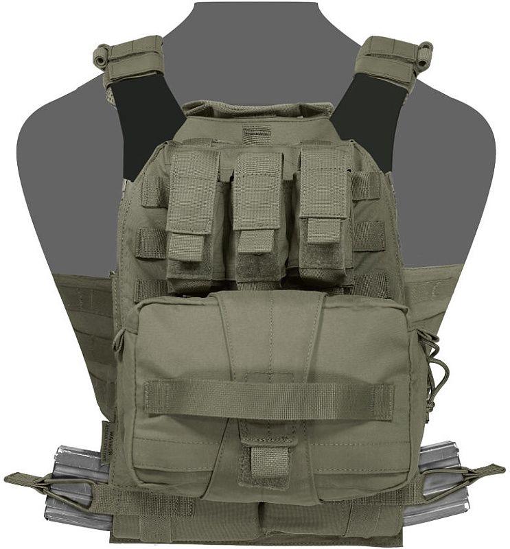 WARRIOR Assaulters Back Panel - ranger green (W-EO-ABP-MK1-RG)