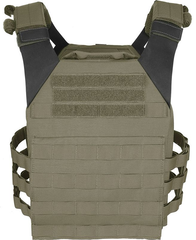 WARRIOR Low Profile Carrier With Ladder Sides  ranger green (W-EO-LPC-V2-RG)