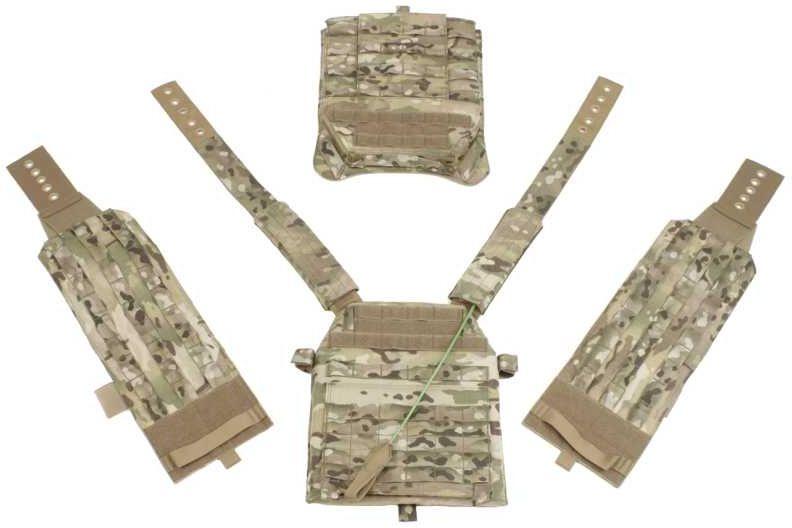 Warrior DCS Special Forces Releasable Plate Carrier Multicam (W-EO-DCS-R-MC), vel. L