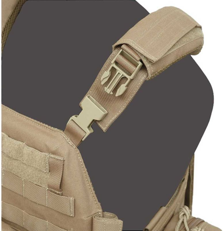 Warrior DCS Special Forces Releasable Plate Carrier Coyote (W-EO-DCS-R-CT)