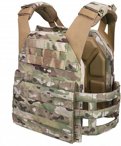 WARRIOR Low Profile Carrier With Ladder Sides - multicam (W-EO-LPC-V2-MC)