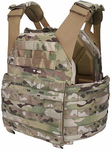 Warrior Low Profile Carrier With Solid Sides MultiCam (W-EO-LPC-V1-M-MC)