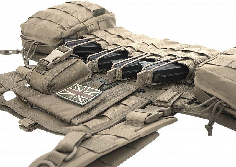 Warrior 901 Elite Ops AK Chest Rig Coyote Tan (W-EO-901-Z-AK-CT)