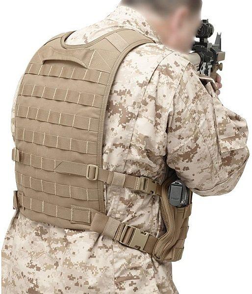 Warrior Elite Ops Back Panel Coyote Tan (W-EO-BP-CT)