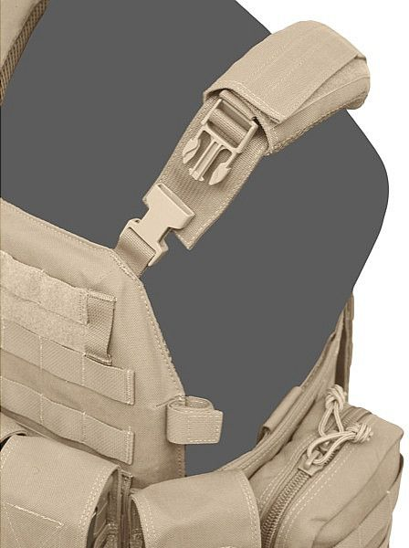 Warrior DCS DA 5.56mm Plate Carrier - Coyote (W-EO-DCS-DA-556-CT)