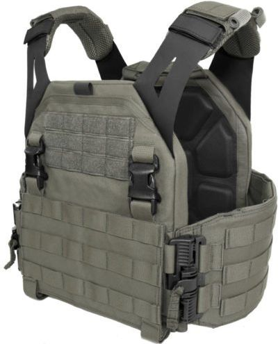 Warrior Low Profile Carrier With Solid Sides Ranger Green (W-EO-LPC-V1-RG)