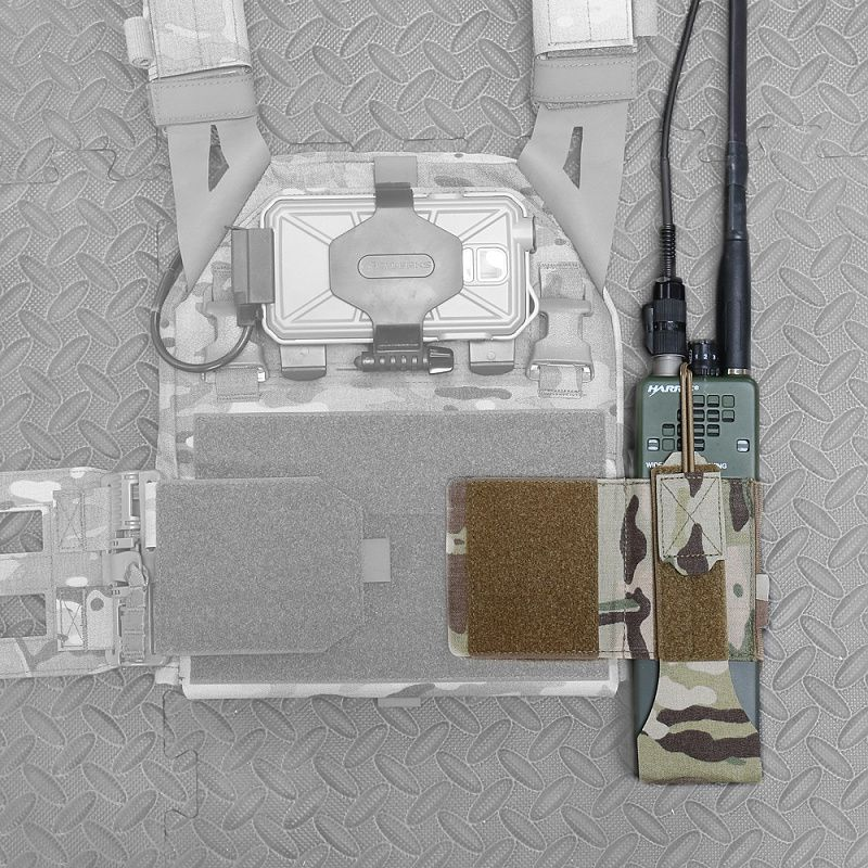 WARRIOR Laser Cut LPC with Detachable 5.56 Panel V1 - multicam (W-LC-LPC-V1-MK1-MC)