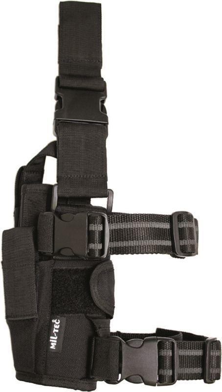 Takticke stehenné púzdro STURM so zásobníkom, čierne
