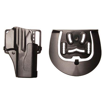 BlackHawk puzdro na zbraň Sportster Std w/BL&Pdl-Mt Finish-R Sig 220/225/226 w/ or w/o rail pravé, čierne 415606BK-R