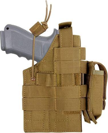 CONDOR Puzdro NA Glock 17 - 35 + zásobník - coyote, (H-GLOCK-498)